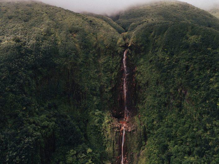 Waterfall In Guadaloupe